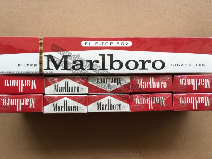 Cheap Marlboro Red Short Cigarette Store 3 Cartons - Click Image to Close