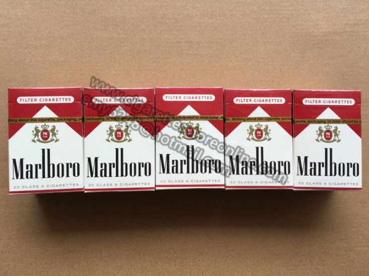 Cheap cigarettes Marlboro packs