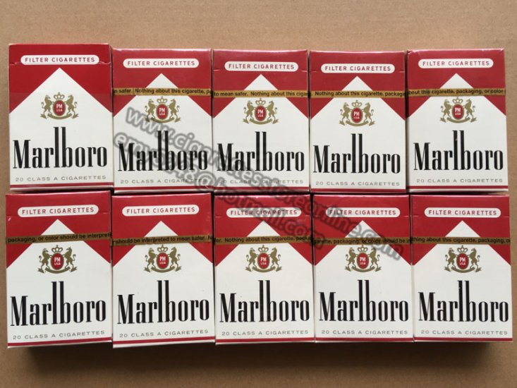 Marlboro light nicotine strength
