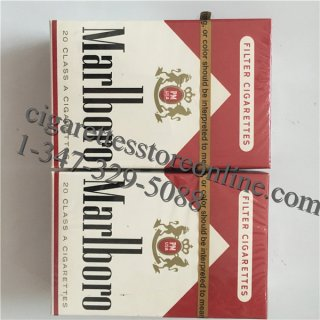 Cheap Marlboro Red Short Cigarette Store 3 Cartons
