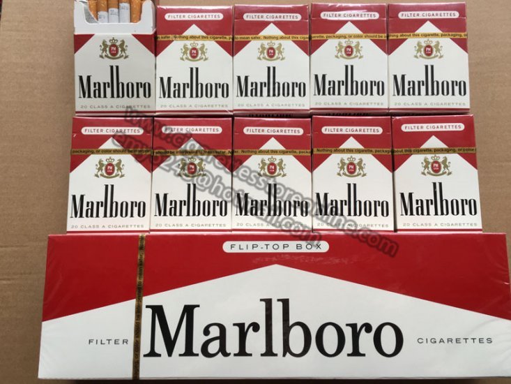 Discount Marlboro Red Short Cigarette Store 10 Cartons - Click Image to Close